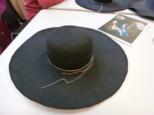 CW Millinery Through Time conference - felt hat workshop
