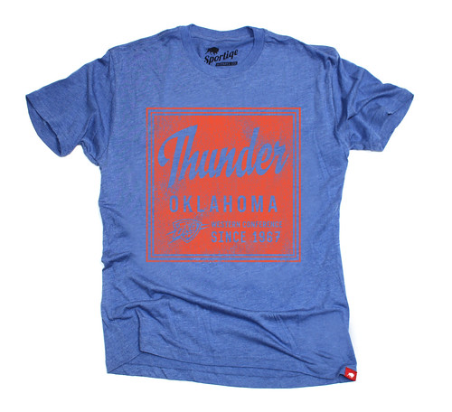 OKC Thunder Graphic T Shirt - Sportiqe Apparel