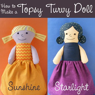 How to Make a Topsy Turvy Doll