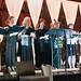 Cynthia Ruchti leading ACFW choir 2013 during the gala