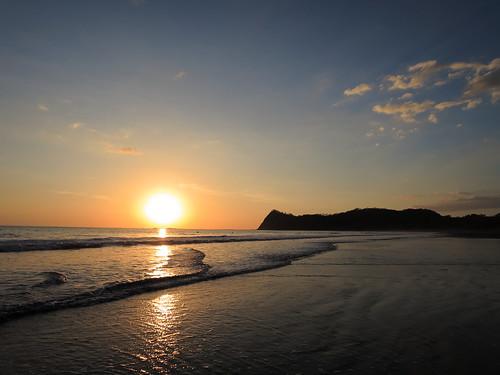 sunset costarica samara playabuenavista