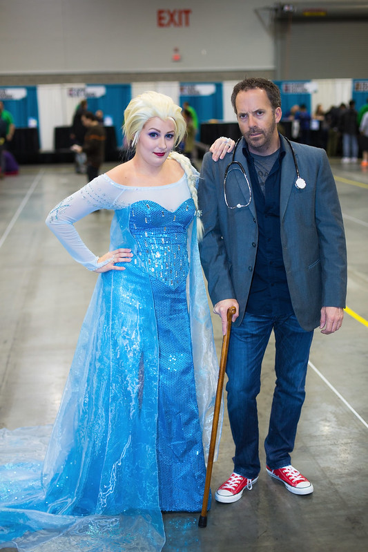 Elsa the Snow Queen and House