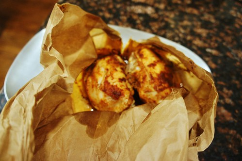 At Home:  My Mom's Chicken in the Bag