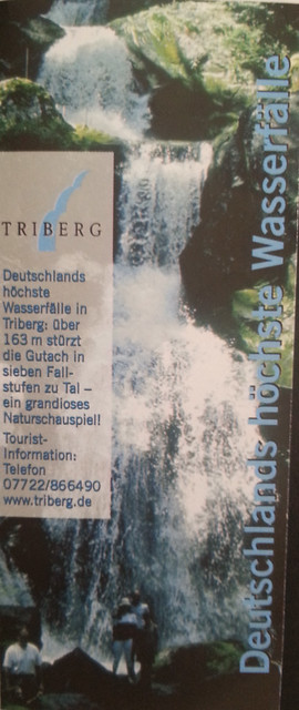 Entradas a Cascadas de Triberg