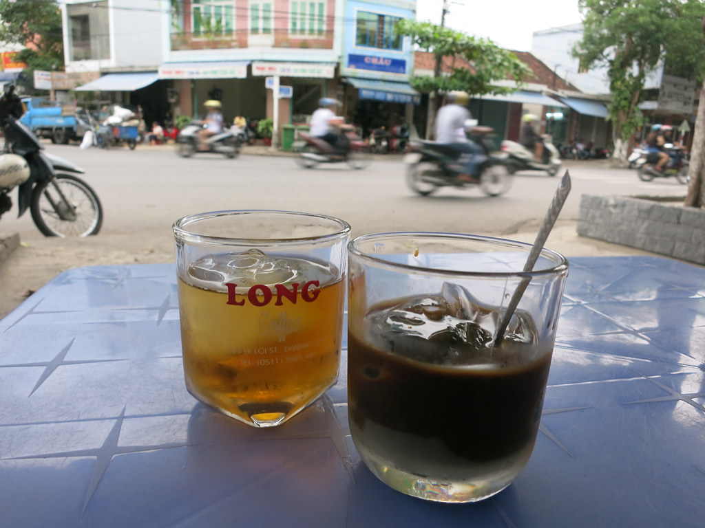 iced coffee and iced tea
