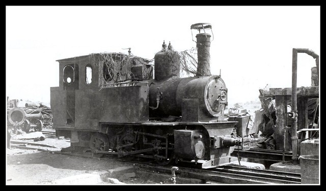 THE OKINAWA RAILROAD -- Engine No.7, 0-6-0