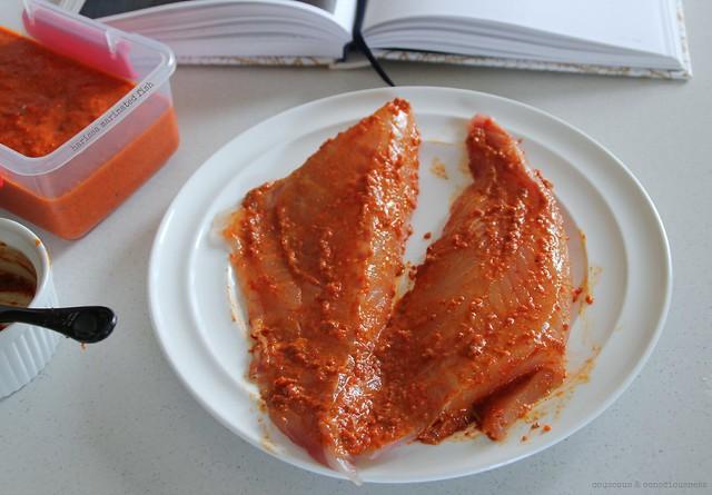 Harissa Marinated Fish