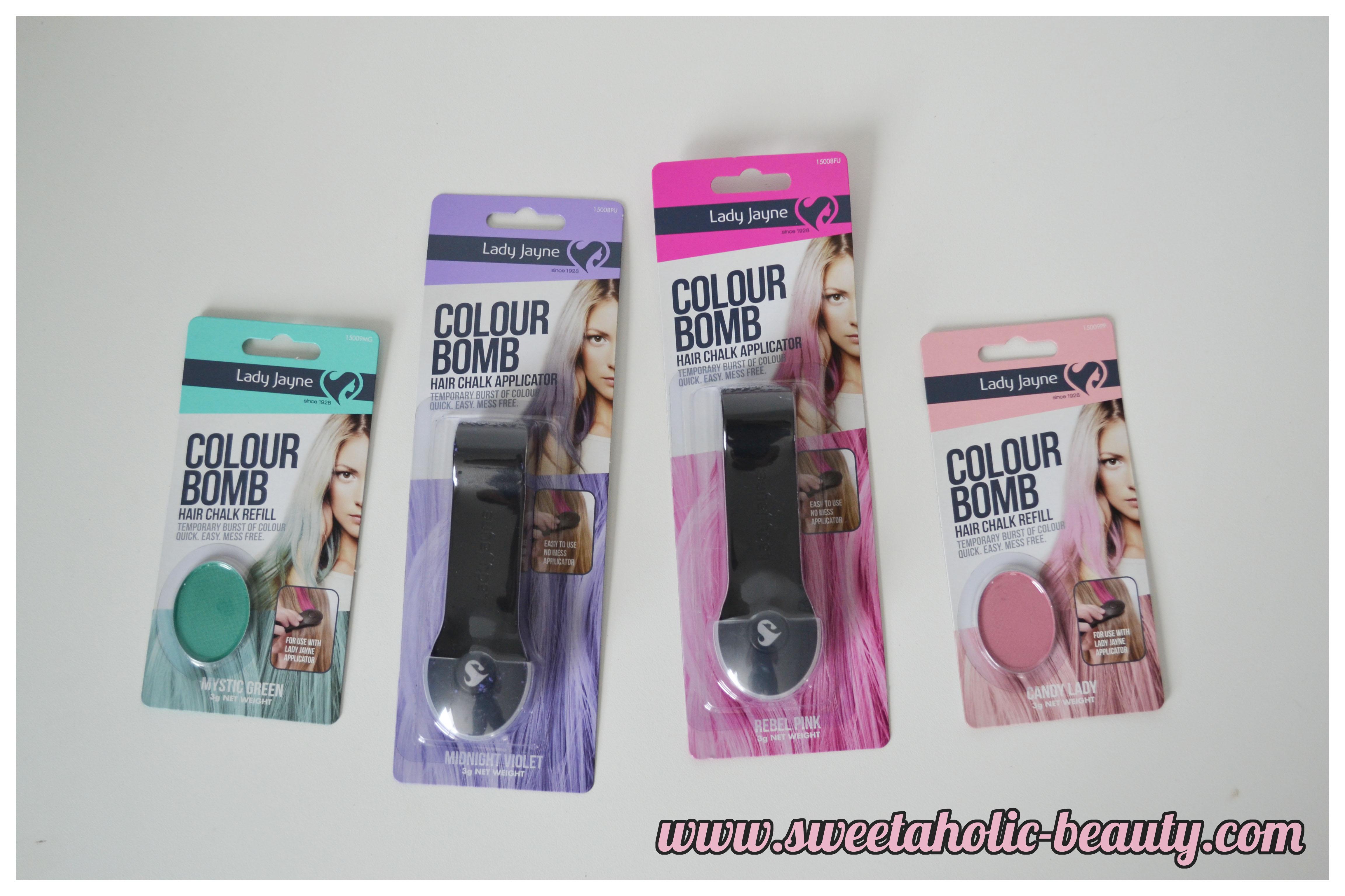 Lady Jayne Colour Bomb Hair Chalk* | Sweetaholic Beauty