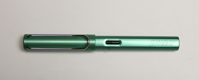 Review: @_WonderPens @LamyUSA Al-Star LE Blue-Green 2014 - Broad