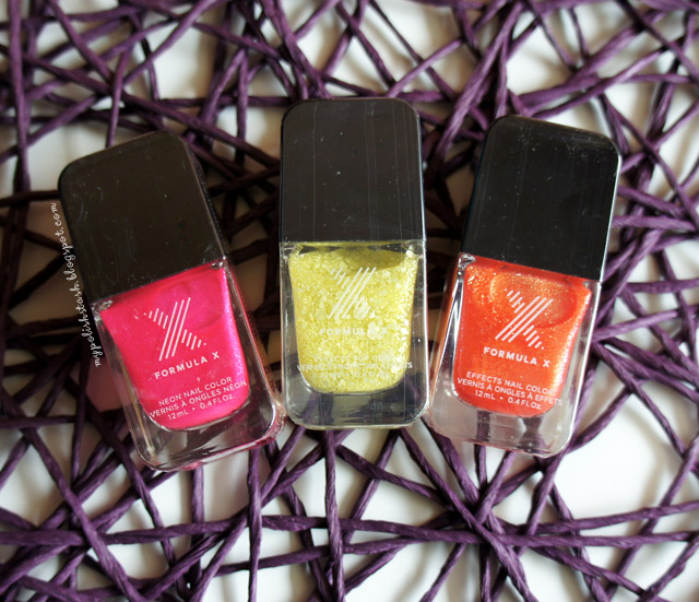 FormulaX for Sephora Nail Polishes