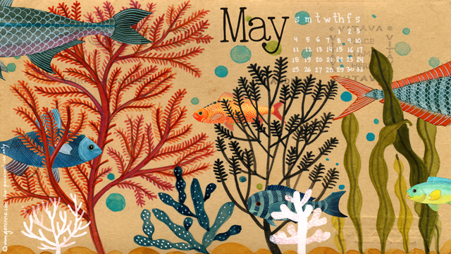 May 2014 Desktop Calendar