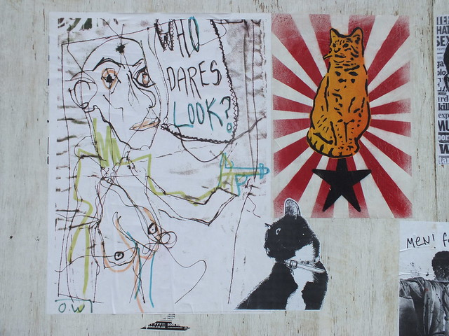 Pasteups and Posters by Lembo and OW