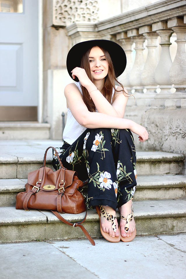 Seventies Inspired Outfit Of The Day ASOS Daisy Trousers