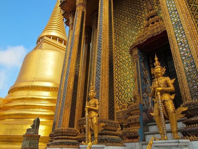 Wat Phra Kaew at the Grand Palace in Bangkok