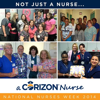 Corizon recognizes nurses for National Nursing Week