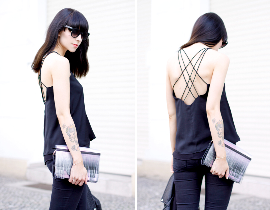 Open back style top H&M trend CATS & DOGS fashion blogger trends watch Ricarda Schernus 1