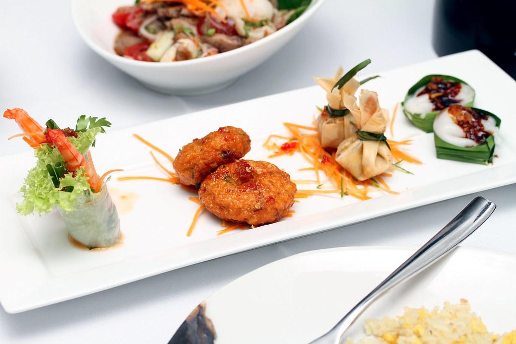 Tamarind Hill Restaurant: Tamarind Hill Platter