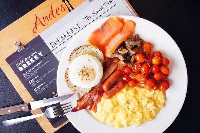 Yummy brunch at Andes BYO - Aman Suria - big breakfast, scotch eggs, french toast-009
