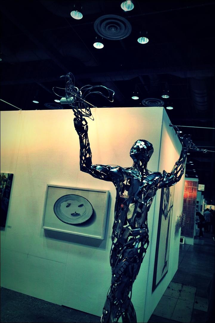 새와 사람-'서울오픈아트페어 2014 Seoul Open Art Fair '