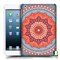 Head Case Designs Tangerine Circus Mandala Hard Back Case for Apple iPad Mini