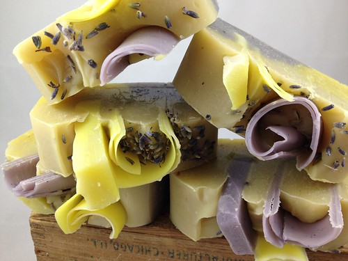 Lemongrass Lavender Soap by The Daily Scrub