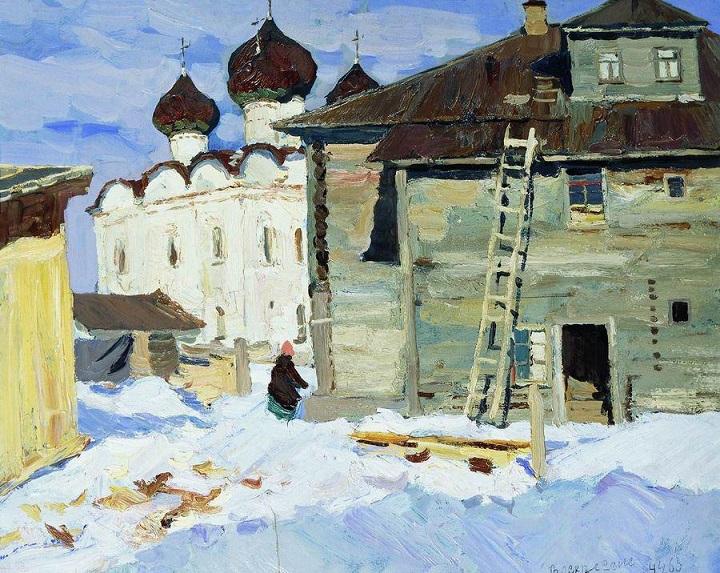 20世纪俄罗斯绘画杰作13