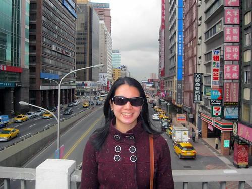 Mei in Taipei.