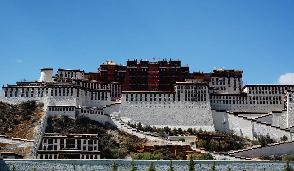 Potala Palace from Potala Square
