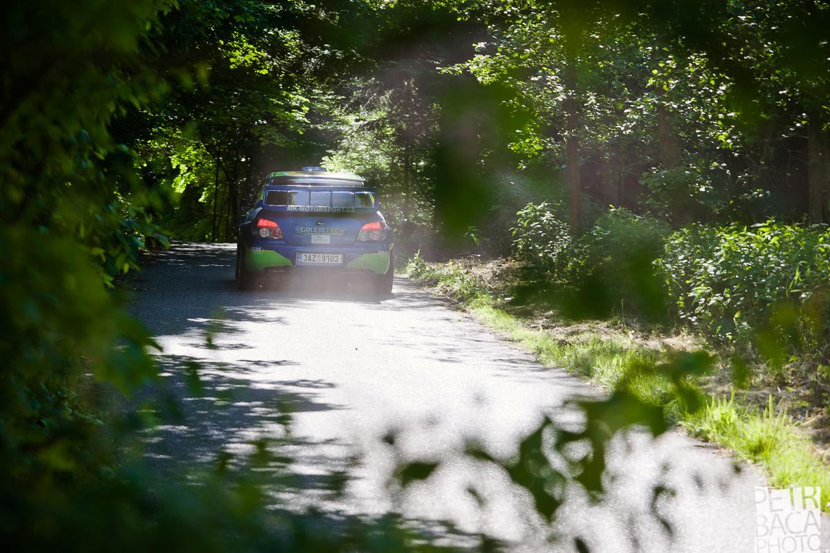 Rally Orlické hory 2014, Opočno, ČMPR, Subaru Impreza WRX Sti,