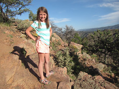 Abbie at the Royal Gorge