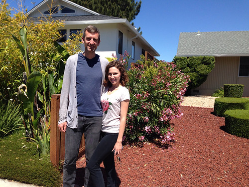 Shaun and Megan on their way home to LA