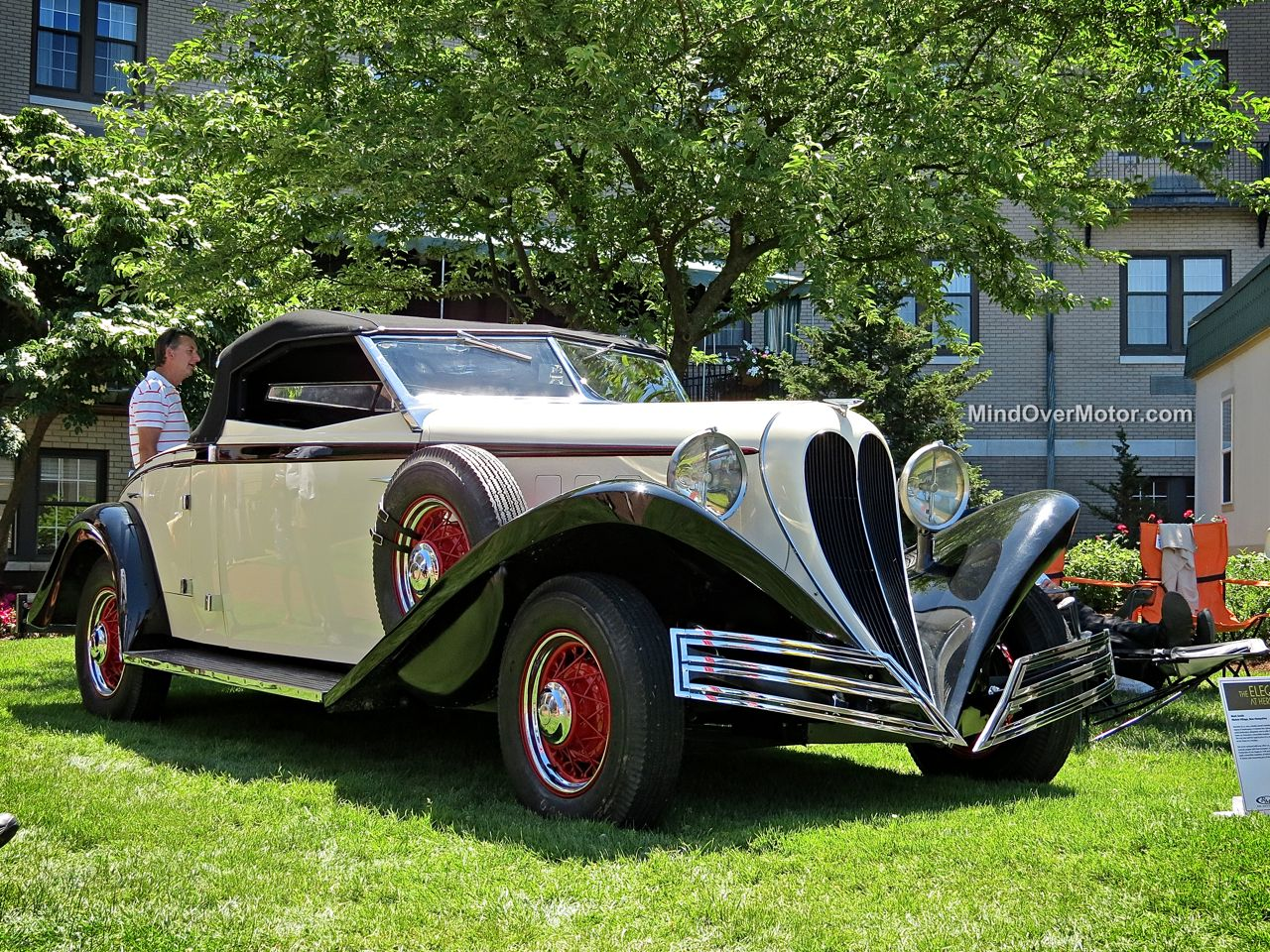 Brewster Convertible Roadster at Hershey