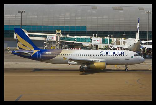 Shaheen A320 AP-BLK