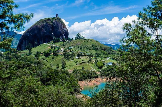 La Piedra del Peñol, Colombia
