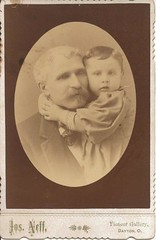 Joseph Neff with Grandson, Mont