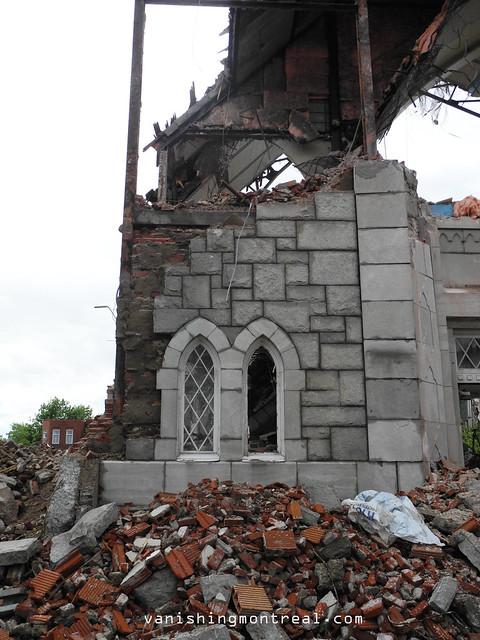 Eglise Notre-Dame-de-la-Paix demolition 6/06/14 13