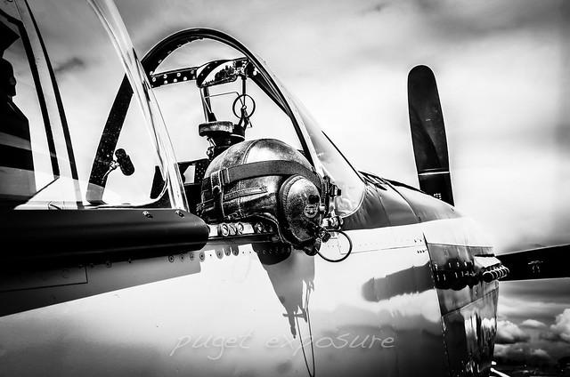 "B&W HFF P-51B Mustang ""Impatient Virgin"""