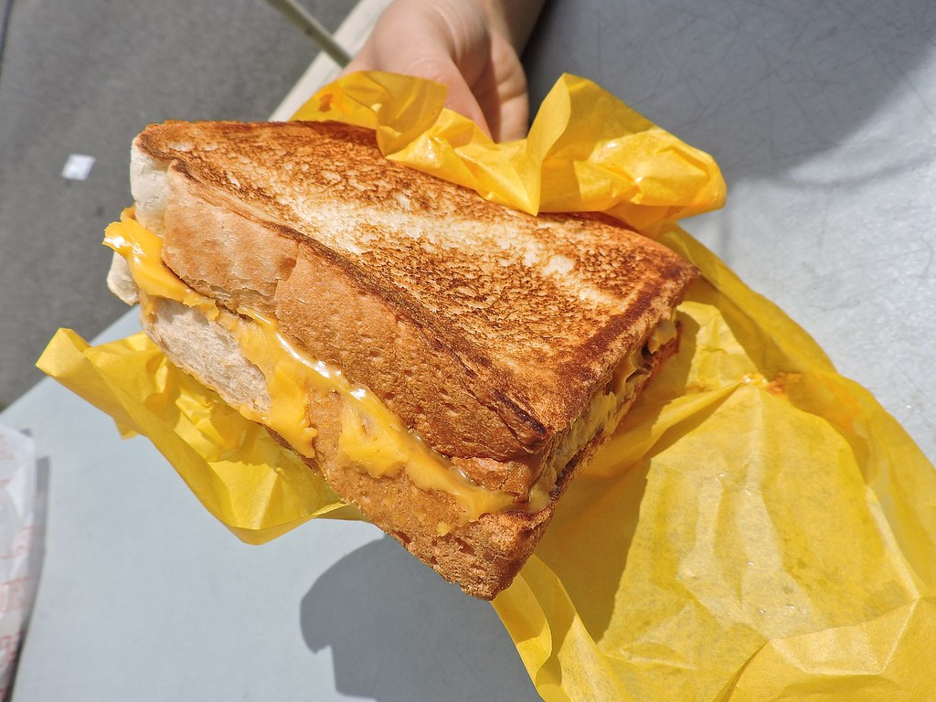 TX Toast grilled cheese