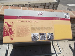 Photo of Donkey Taxis and Julián Nuñez Andreu yellow plaque