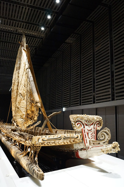 Oceanic Culture Museum: Long Boat - Okinawa, Japan