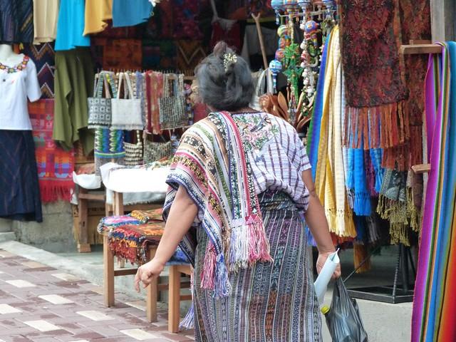 Mujer en Santiago Atitlán (Guatemala)