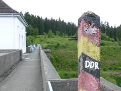 Alter DDR-Grenze zerschnitt die Eckertalsperre