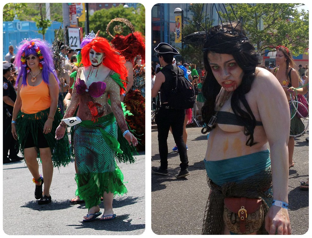 coney island mermaid parade walking dead