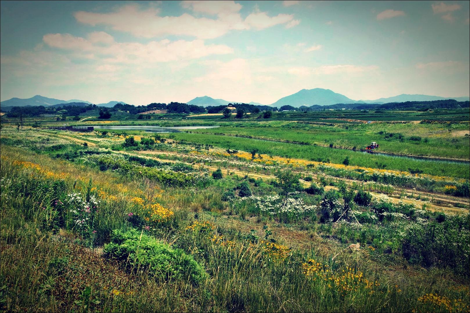 꽃판-'남한강 자전거 종주 Bike Riding Namhan river Korea'