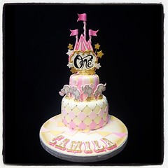 Vintage Circus Cake Firstbirthday Vintage Girly Stars
