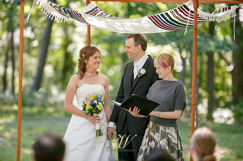 Leah + Will's Durand Eastman Park Wedding, July 2014