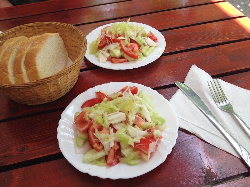 Fresh and tasty salad