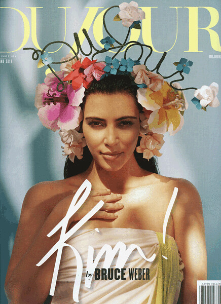paper-flower-headpiece-on-dujour-magazine-cover