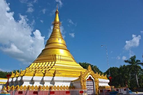 Burmese temple at Lumbini