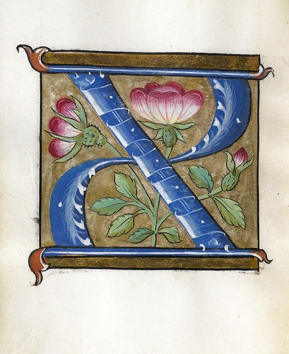 002-Leaf from Alphabet Book- The Art Walters Museum
